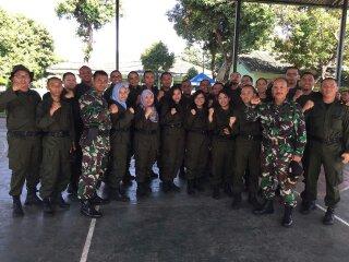 Sebagian teman-teman selama wajib militer